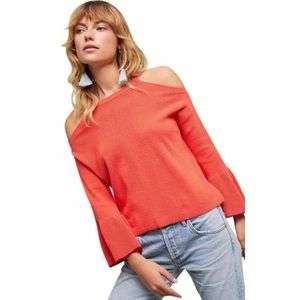 Knitted & Knotted Leandre Cold Shoulder Sweater